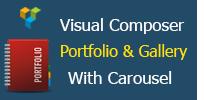 Visual Composer - Portfolio und Galerie mit Karussell