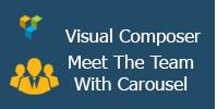 Visual Composer - Treffen Sie das Team mit Karussell
