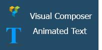 Animiertes Text-Add-On für Visual Composer