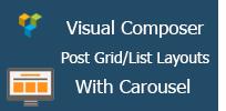 Visual Composer - Post-Raster- / Listen-Layout mit Karussell