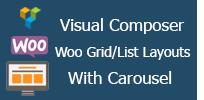Visual Composer - Woocommerce-Netz mit Karussell