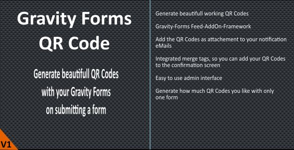 Gravity Forms QR-Code