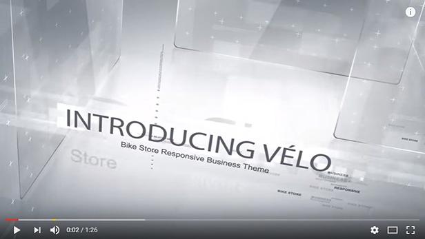 Velo-Video auf Youtub