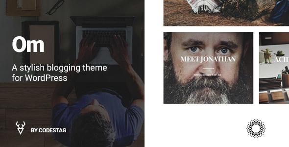 OM - Ein stilvolles Blogthema für WordPress