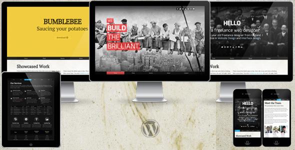 Folio WP: Einzelner Portfolio WordPress Vorlage + Blog
