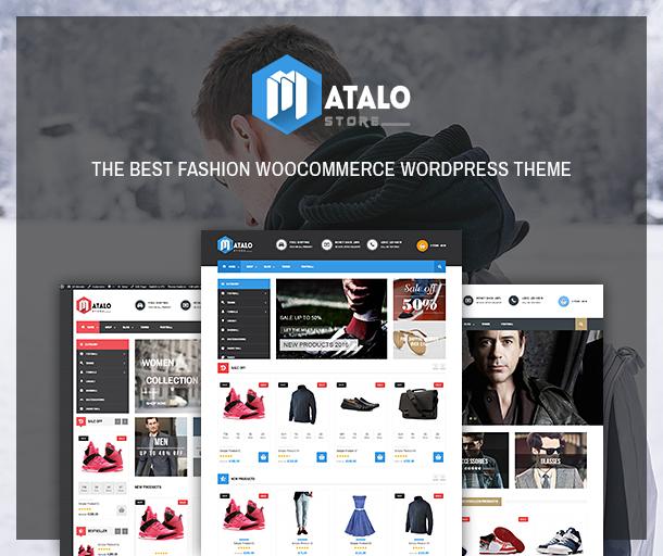VG Matalo - eCommerce WordPress Layout für Online-Shop