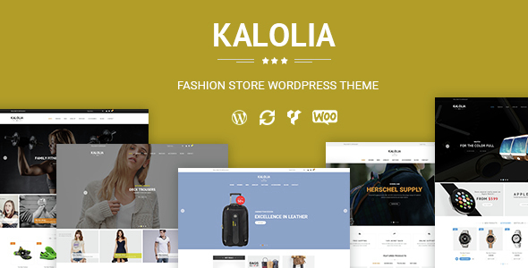 SNS Kalolia - Geschäft WordPress WooCommerce Layout