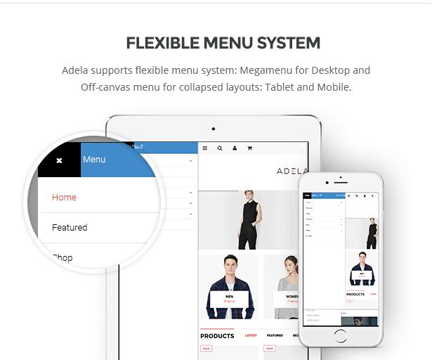 flexibles Menüsystem