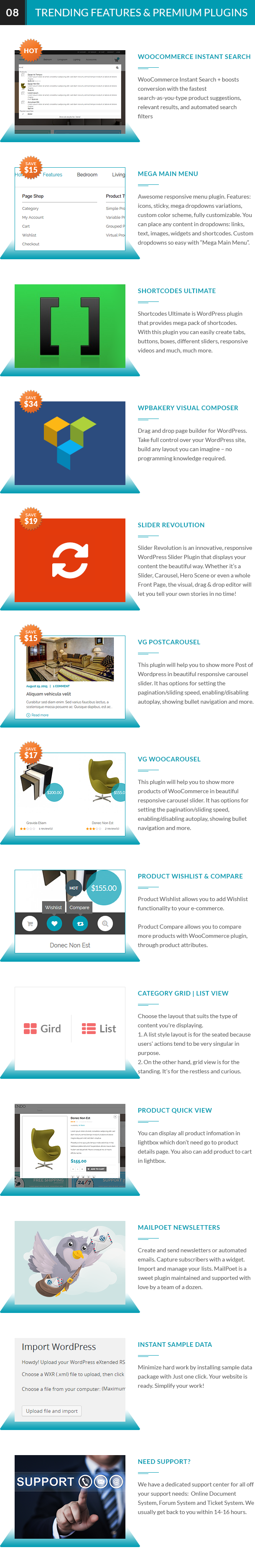 VG Cendo - WooCommerce WordPress Template für Möbelhäuser