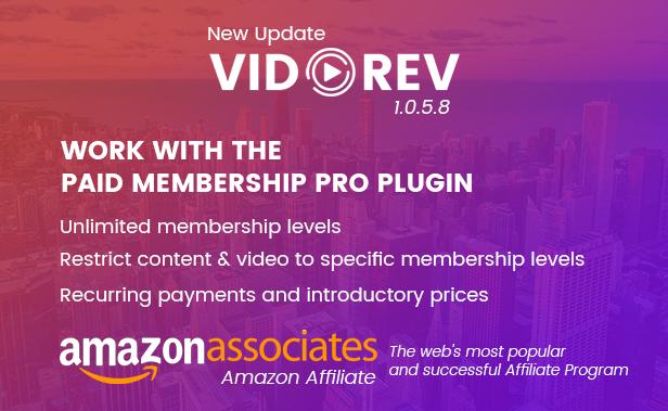 VidoRev - Video WordPress Layout