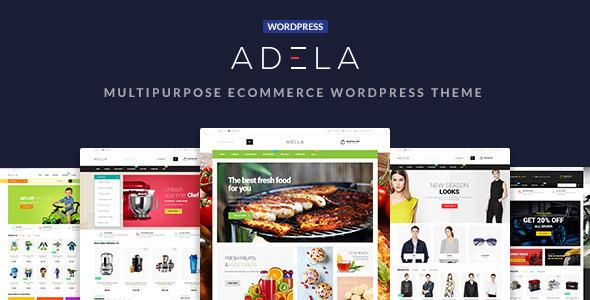 Adela Mehrzweck WooCommerce WordPress Vorlage