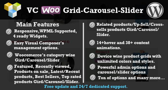 Visual Composer Woocommerce Raster / Karussell / Slider - CodeCanyon Artikel zum Verkauf