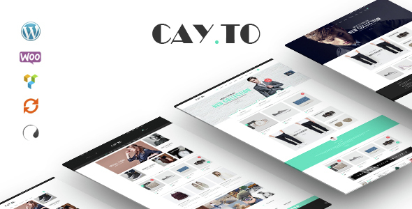 Cayto - Das beste WooCommerce Responsive WordPress Layout