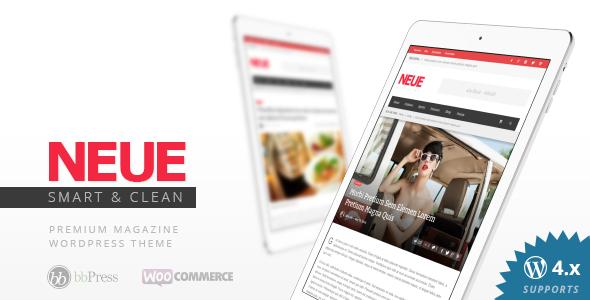 NEU - Smart & Modern Magazin Template