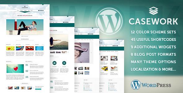 Casework WP - Design Studio Portfolio und Blog Template