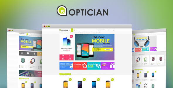 VG Optiker - Responsive eCommerce WordPress Vorlage