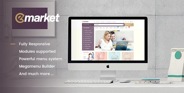 Emarket Mehrzweck WooCommerce Wordpress Template