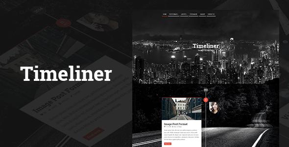 Timeliner | Responsive Timeline Blogging WP Thema