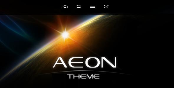 AEON Futuristisches Template für WordPress