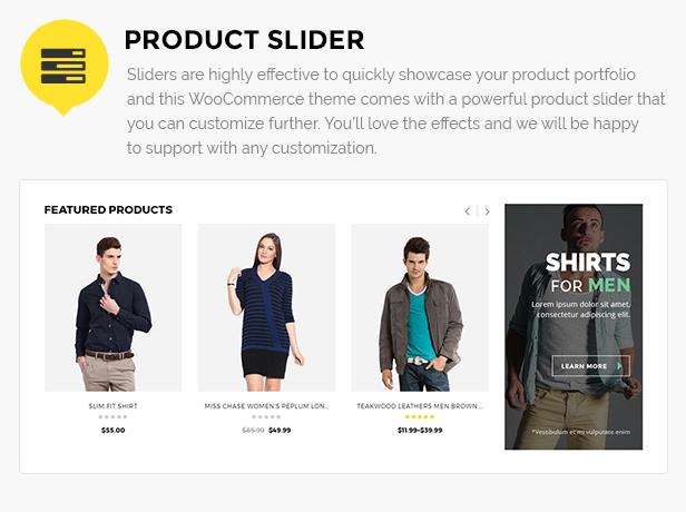 Modegeschäft WordPress Thema