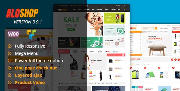 Wordpress Shop Template Alo Shop - Mega Market RTL Responsive WooCommerce WordPress Theme