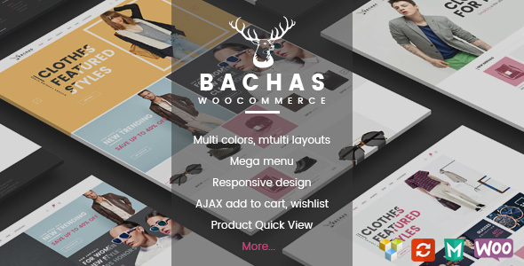 Wordpress Shop Template Bachas - Responsive WooCommerce WordPress Theme
