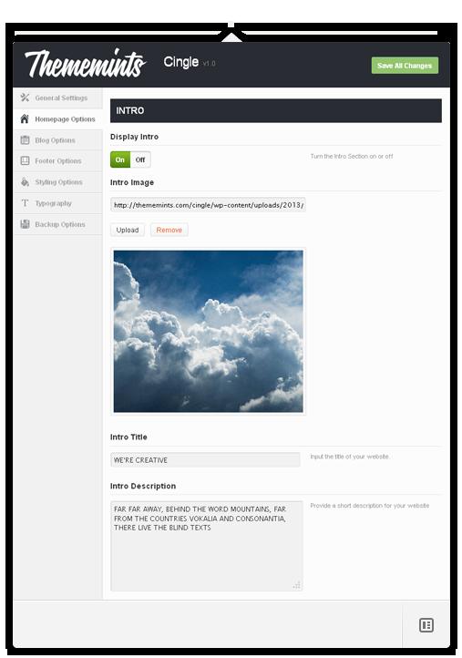 Cingle | Responsive One Page WordPress Layout