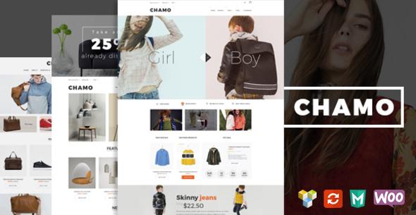 Wordpress Shop Template Chamo - Responsive WooCommerce WordPress Theme