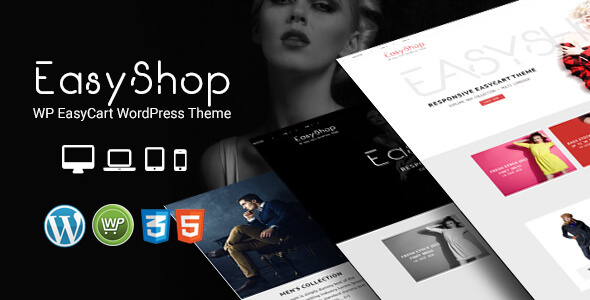 EasyShop - WP EasyCart Responsives WordPress Layout