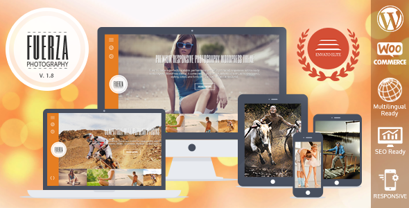 Wordpress Kreativ Template Fuerza Responsive WordPress Theme