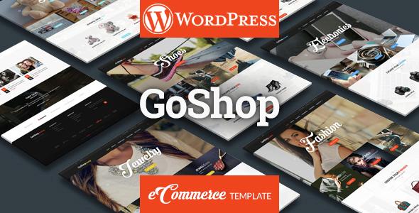 Wordpress Shop Template GoShop - Multipurpose Ecommerce WordPress Theme