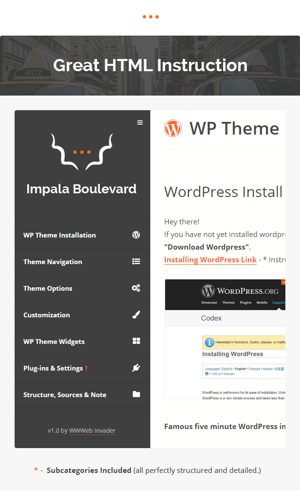 Impala Boulevard - Blog, Magazin WordPress Template