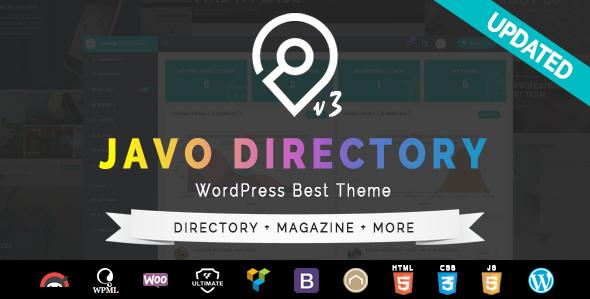 Wordpress Directory Template Javo Directory WordPress Theme
