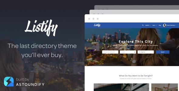 Wordpress Directory Template Listify - WordPress Directory Theme