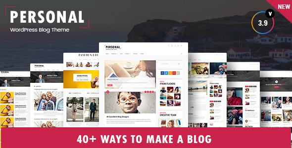 Persönlich Bestes Blog Lebenslauf Und Video Wordpress Layout