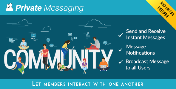 Wordpress Add-On Plugin Private Messages for UserPro