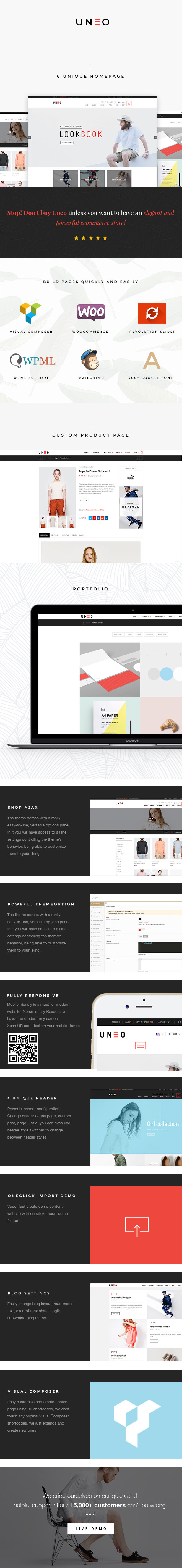 UNEO - Voll AJAX & Eye Caching WooCommerce WordPress Layout (AJAX Warenkorb, AJAX Filter, AJAX Sortierung)