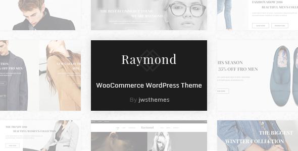 Wordpress Shop Template Raymond - WooCommerce Responsive WordPress Theme