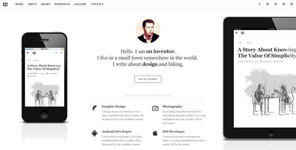Wordpress Blog Template Readme - A Readable WordPress Theme