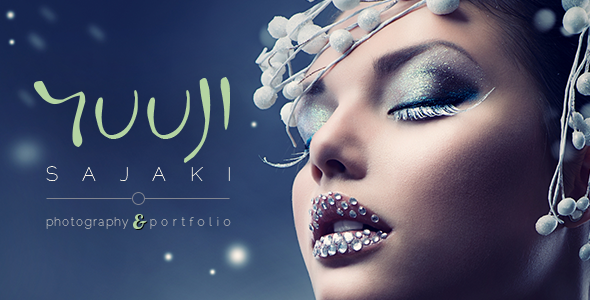 Wordpress Kreativ Template Sajaki - Creative WordPress Portfolio