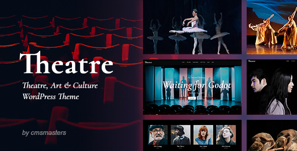 Wordpress Entertainment Template Theater - Concert & Art Event Entertainment Theme