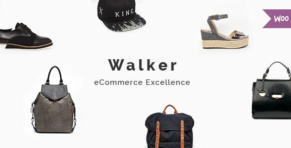 Wordpress Shop Template Walker - A Trendy WooCommerce Theme