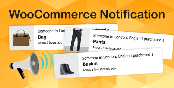 Wordpress E-Commerce Plugin WooCommerce Notification | Boost Your Sales - Live Feed Sales - Recent Sales Popup - Upsells