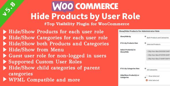 WooCommerce Produkte ausblenden   Produkte, Kategorien Sichtbarkeit nach Benutzerrollen