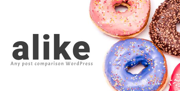 Gleiches - Jeder Beitrag Vergleich WordPress