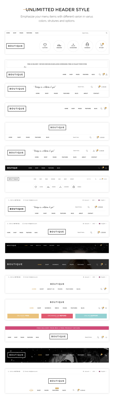 Boutique - Kute Responsives WooCommerce WordPress Vorlage