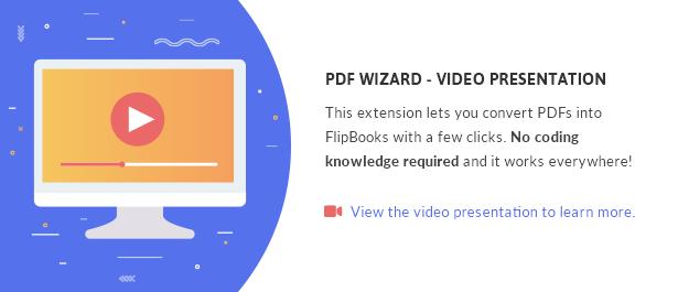 PDF zu FlipBook Erweiterung