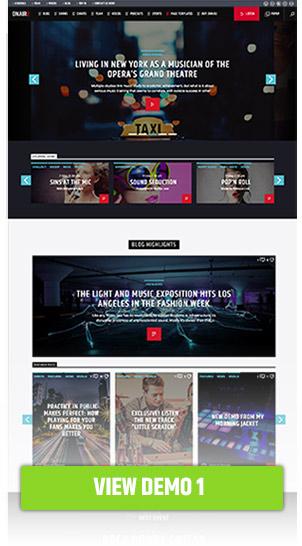 Onair2: Radiostation WordPress Template