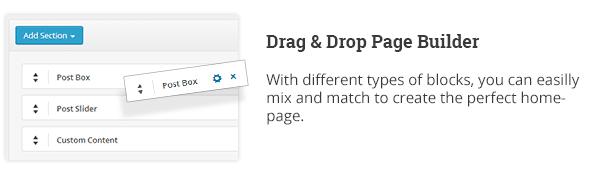 Drag-and-Drop-Seitenerstellung