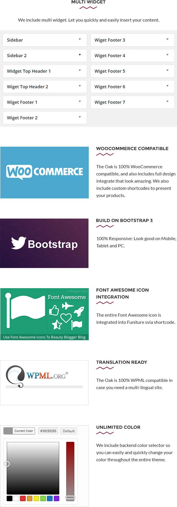 Wordpress Die Eiche aus Holz